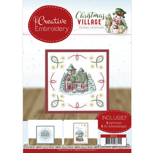 CB10016 Creative Embroidery 16 Yvonne Creations Christmas Village