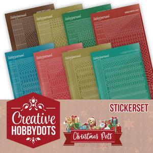 CHSTS005 Creative Hobbydots 5 - Amy Design - Christmas Pets - Sticker Set