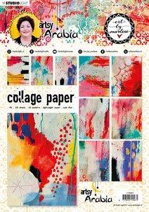 Studio Light Collage Paper A4 Art By Marlene 6.0 nr.07 CPBM07 (09-20)