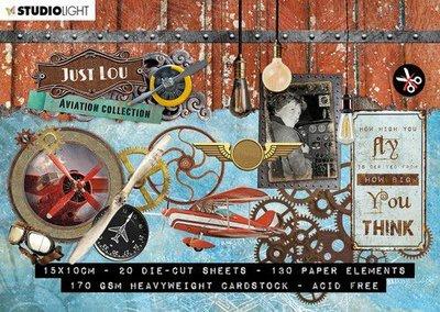 Studio Light Stansblok A6 Just Lou Aviation coll. nr.03 A6STANSBLOKJL03 (10-20)