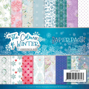 JAPP10017 Paperpack - Jeanine's Art - The colours of winter