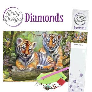 DDD1020 Dotty Designs Diamonds - Tigers