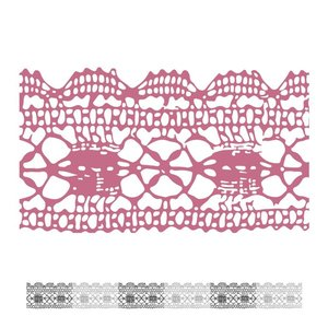CO727404 Couture Creations Lacey Mini Stamp 50x50mm