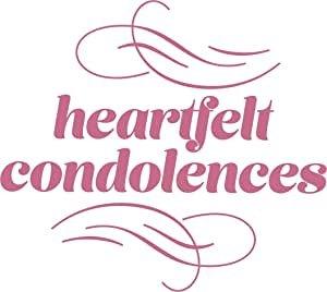 CO727410 Couture Creations Heartfelt Condolences Mini Stamp 50x50mm