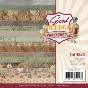 YCPP10035 Paperpack - Yvonne Creations - Good old day's