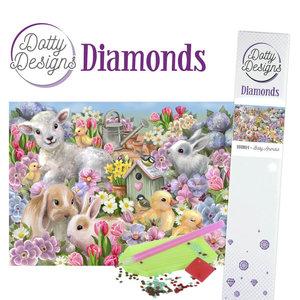 DDD1024 Dotty Designs Diamonds - Baby Animals
