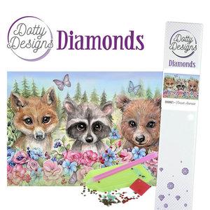DDD1023 Dotty Designs Diamonds - Forest Animals