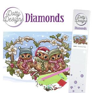 DDD1017 Dotty Designs Diamonds - Christmas Owls