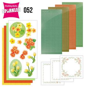 Sparkles Set 52 - Jeanine's Art - Orange Flowers