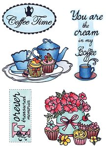 EWS2207 Marianne Design - Clear stamp - Coffee time