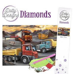 DDD1034 Dotty Designs Diamonds - Trucks