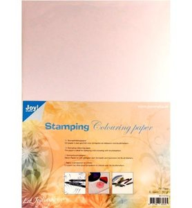 8011/0700 Joy Crafts - Stamping Colouring Paper - 10 vel A4 - 250 grms