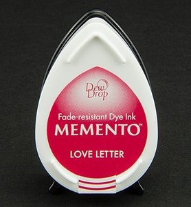MD-302 - Memento klein - InkPad-Love Letter