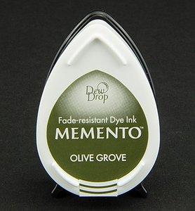 MD-708 - Memento klein - InkPad-Olive Grove