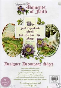 Do Crafts - Papermania - Designer Decoupage Sheet - Moments of Faith