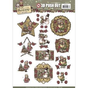 SB10197 - Pushout - Yvonne Creations - Celebrating Christmas- Yvonne Creations