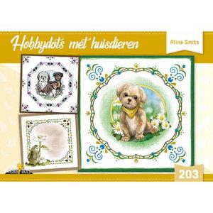 Hobbydols 203 Hobbydots met huisdieren