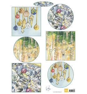 IT597 – Knipvel – Marianne Design – Tiny's Christmas baubles