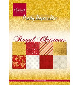 PK9151 – Marianne Design – Paper Bloc – Royal Christmas – A5