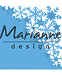 LR0497 – Marianne Design – Creatables – Snowflakes corner