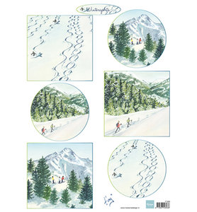 IT600 – Knipvel – Marianne Design – Tiny's Winterlandschapjes 2