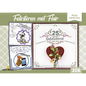 Hobbydols 206 Feliciteren met Flair - Annie Hendricks