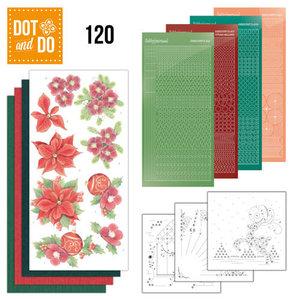 Dot and Do 120 - Jeanine's Art - Kerstbloemen