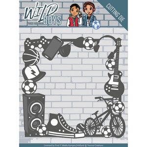 YCD10116 Die - Yvonne Creations - Wild Boys - Gadget Frame