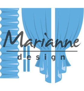 LR0502 Marianne Design – Creatable – Curtains