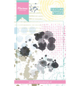 MM1617 - Marianne Design - Clear Stamps - Tiny's Stains - 3 stamps