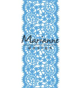 LR0507 - Marianne Design - Creatables - Lace Border - 65x150mm