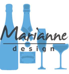 LR0504 - Marianne Design - Creatables - Champagne - 20x73mm