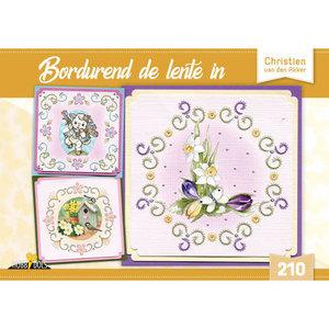 Hobbydols 210 Bordurend de lente in - Christien van den Akker