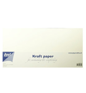 8089/0234 - Joy Crafts - Kraft papier - White - 30,5x15cm - 300grs - 20 sheets