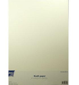 8089/0231 - Joy Crafts - Kraft papier - White - A4 - 300grs - 20 sheets