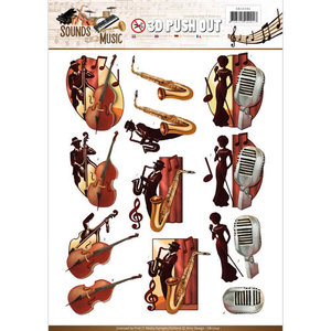 SB10242 - Push Out - Amy Design - Sounds of Music - Jazz