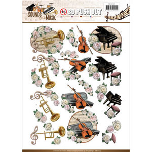 SB10243 - Push Out - Amy Design - Sounds of Music - Classic