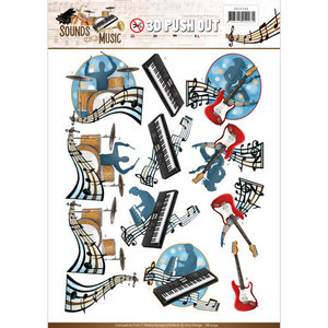 SB10244 - Push Out - Amy Design - Sounds of Music - Pop