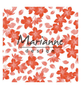 DF3446 - Marianne Design - Design Folder - 3D - Blossom - 141 x 141 mm