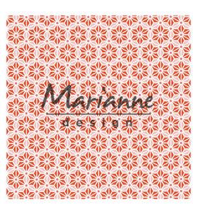DF3445 - Marianne Design - Design Folder - 3D - Japanese Star