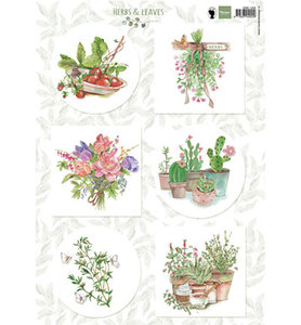 EWK1255 - Marianne Design - Knipvel - Els Herbs and leaves 2