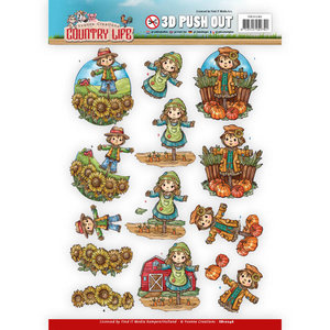 SB10246 - Push Out - Yvonne Creations Country Life Scarecrow