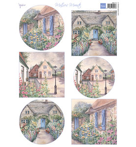 MB0173 - Marianne Design - Knipvel - Matties mooiste Cottages