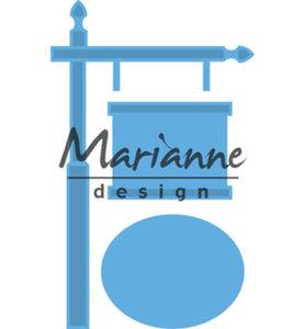 LR0522 - Marianne Design - Creatables -Sign Post - 63x101mm