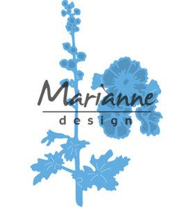 LR0521 - Marianne Design - Creatables -Tiny's Hollyhocks