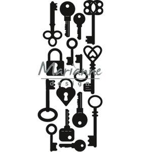 CR1435 - Marianne Design - Craftables - Punch Die Keys - 39x89mm