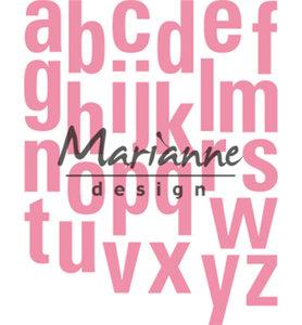 COL1449 - Marianne Design - Collectables - Alfabet XXL - 131x169mm
