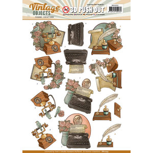SB10255 - Push Out - Yvonne Creations - Vintage Objects - Vintage Communication