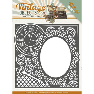 YCD10132 - Dies - Yvonne Creations - Vintage Objects - Endless Times Frame