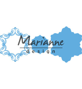 LR0530 - Marianne Design - Creatables - Royal Frame - 123x142mm
